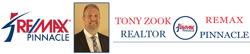 Logo, Tony Zook Realtor - Remax Pinnacle